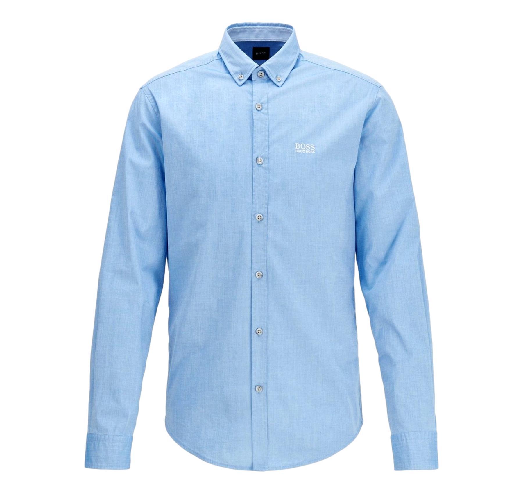50425606 HUGO BOSS Camicia regular fit in cotone elasticizzato Modello BIADO/_R
