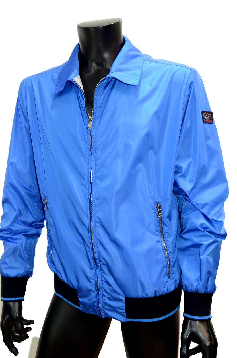 Paul Shark JACKET BOMBER p16p0233 regular fit col. 398 LIGHT BLU