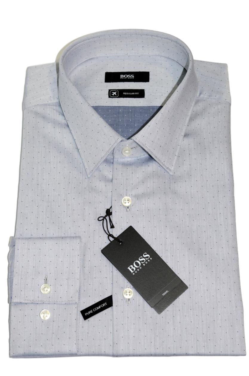 HUGO BOSS Camicia regular fit in cotone Fresh Active Modello Eliott - 50395844