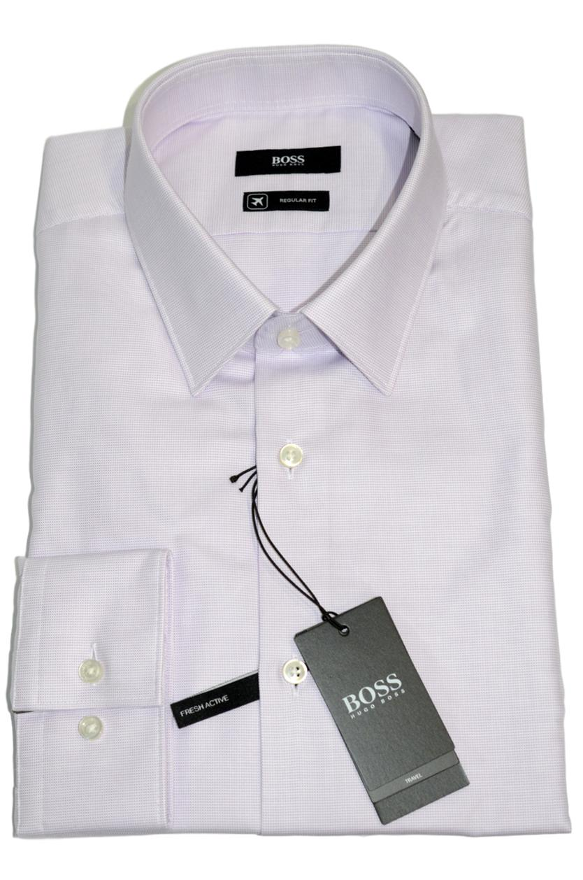 HUGO BOSS Camicia regular fit in cotone Fresh Active Modello Eliott  50393152