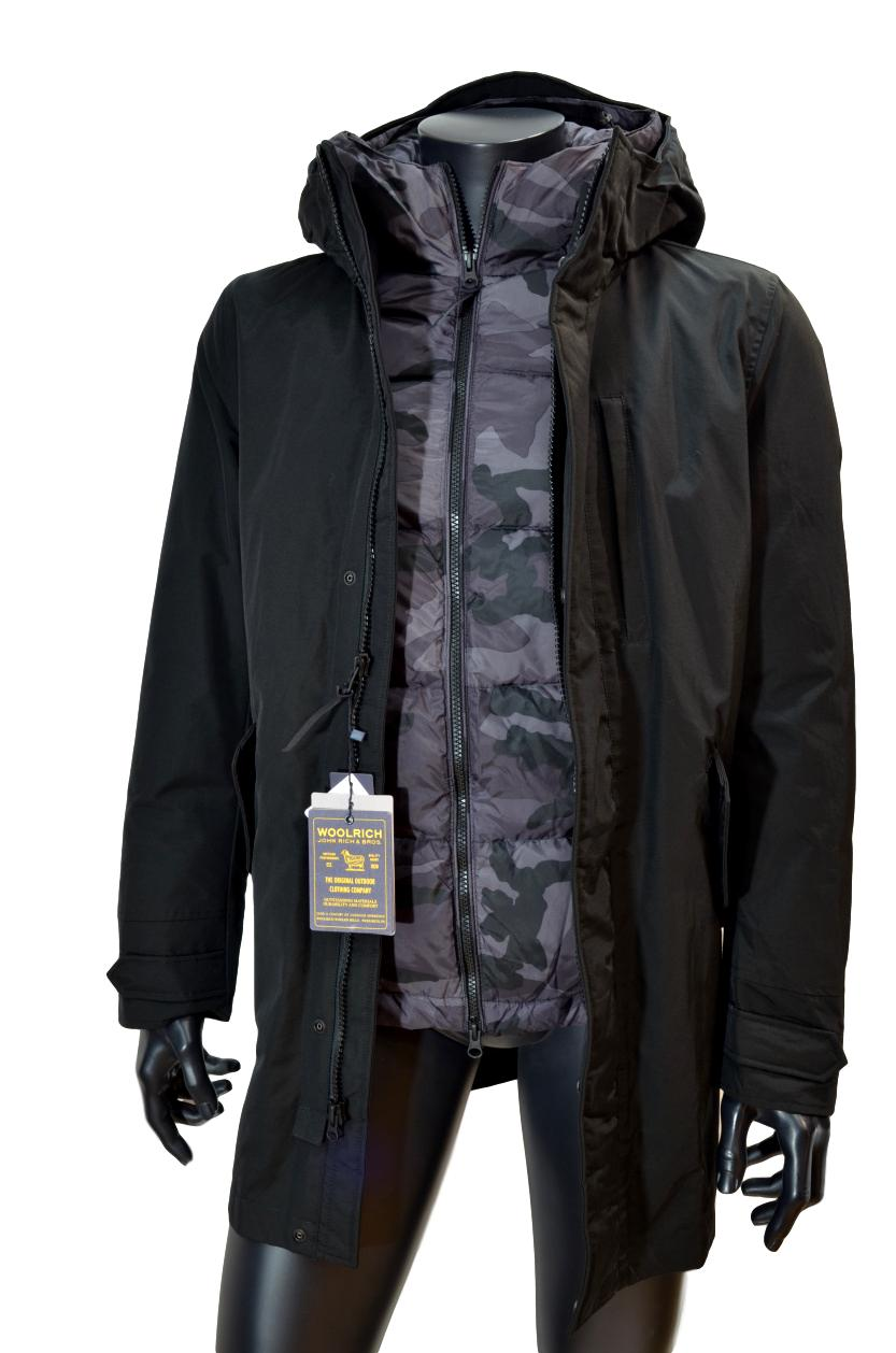 WOOLRICH Mountain Parka WOCPS2734 CN03 BLK Colore: NERO