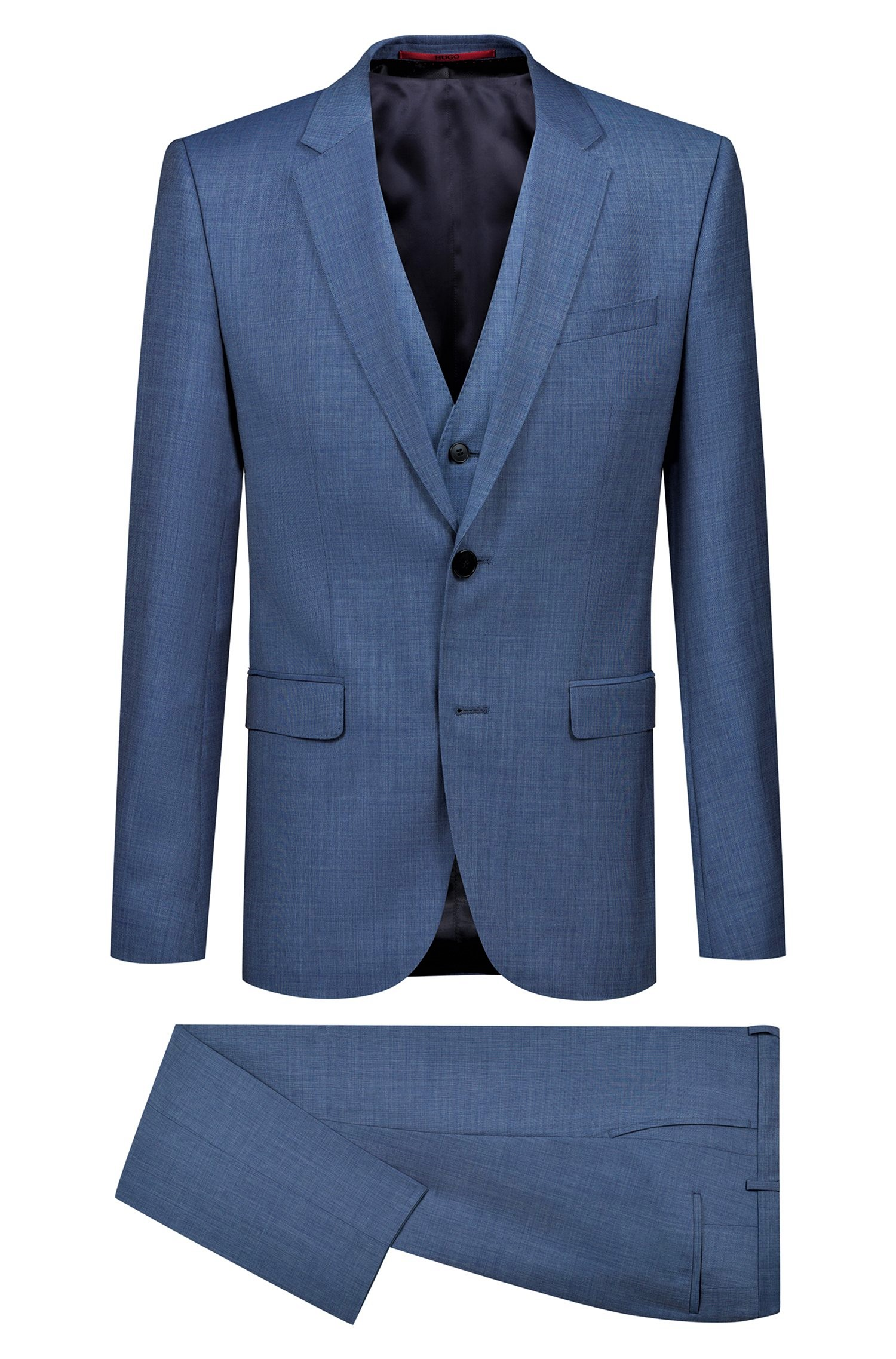 authentic quality excellent quality free shipping Details zu Hugo Boss Kleid mit Weste Extra Slim Fit Modell Astian /  Hets184V1 - 50405359