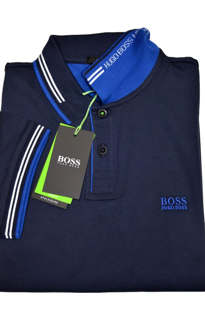 Hugo Boss Mens Paul Modern Essential Polo
