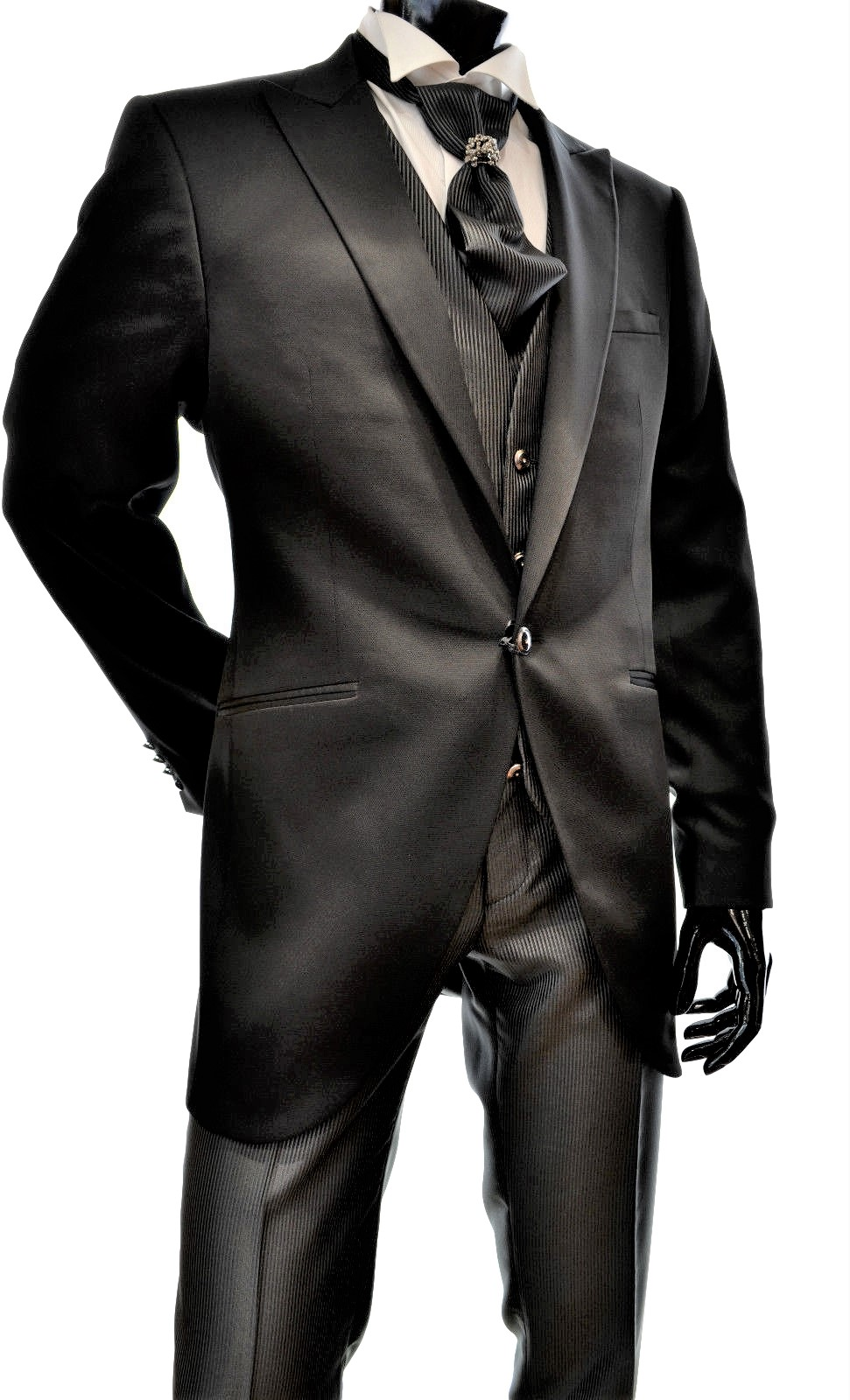 Abiti Da Cerimonia Tg 52.Mens Groom Wedding Dress Size 52 Drop 7 Tight Jacket Waistcoat