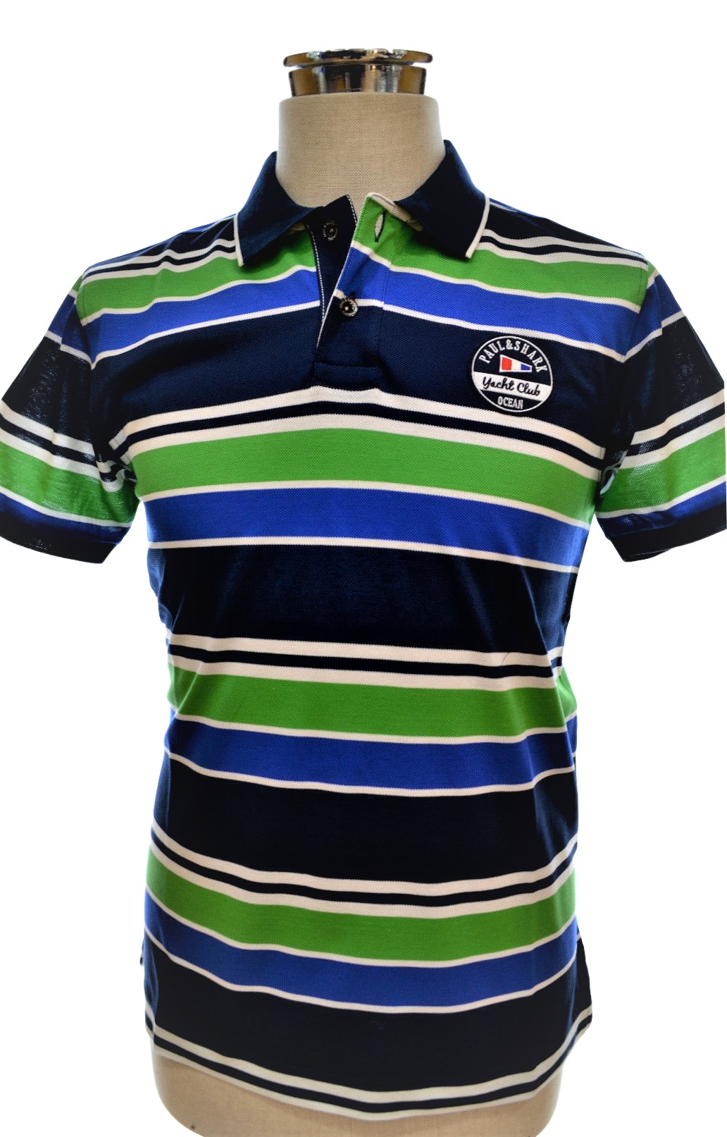 Paul Shark Yacht Club Ocean POLO e15p0910sf SLIM FIT COLOR 336 Lines
