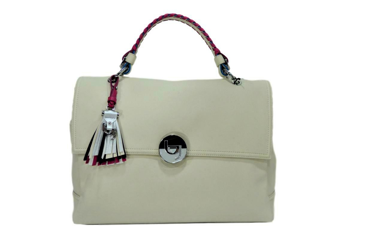 BYBLOS BORSA DONNA 2WB0018 LONG BEACH HANDLE BAG WHITE