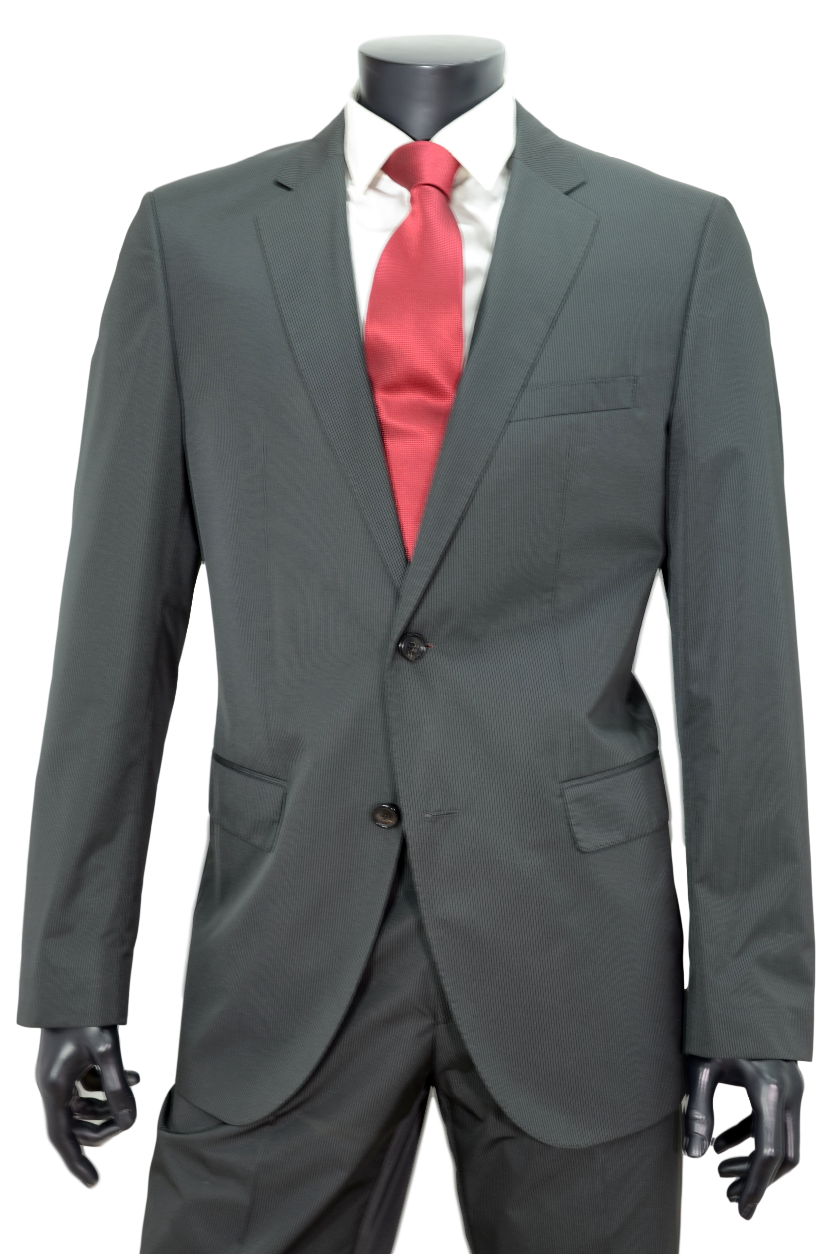 HUGO BOSS ABITO THE JAM/SHARP SLIM FIT COLORE GRIGIO RIGA TG. 50