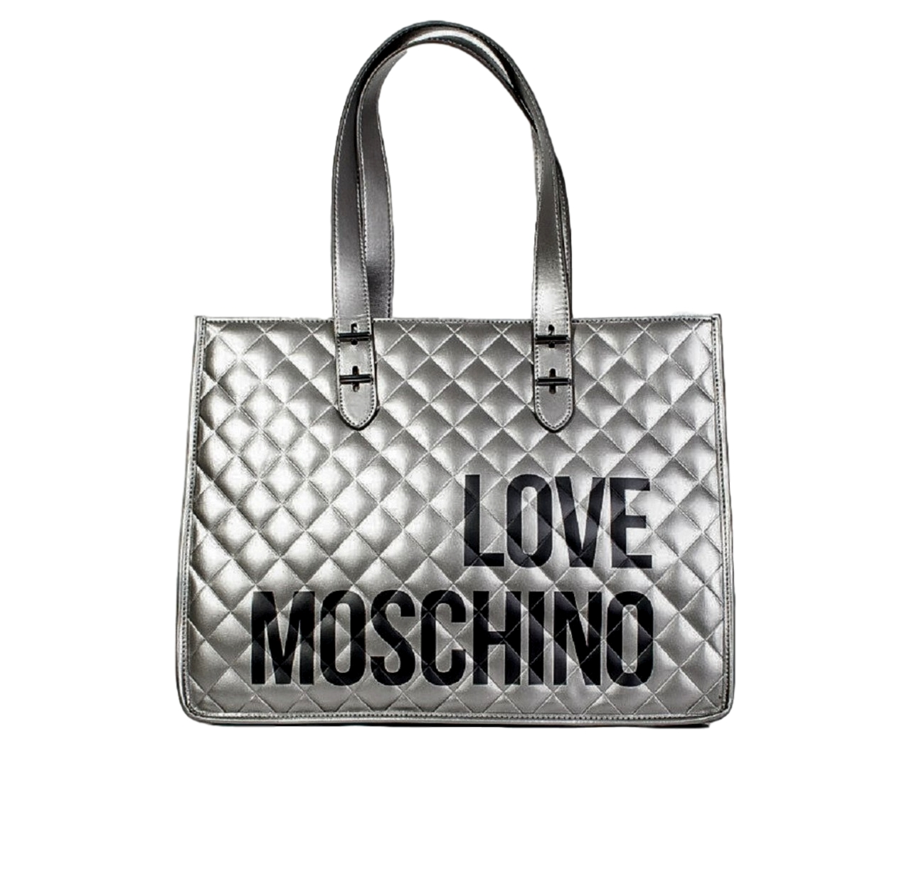 LOVE MOSCHINO BORSA QUILTED NAPPA PU FUCILE JC4210PP08KB0906