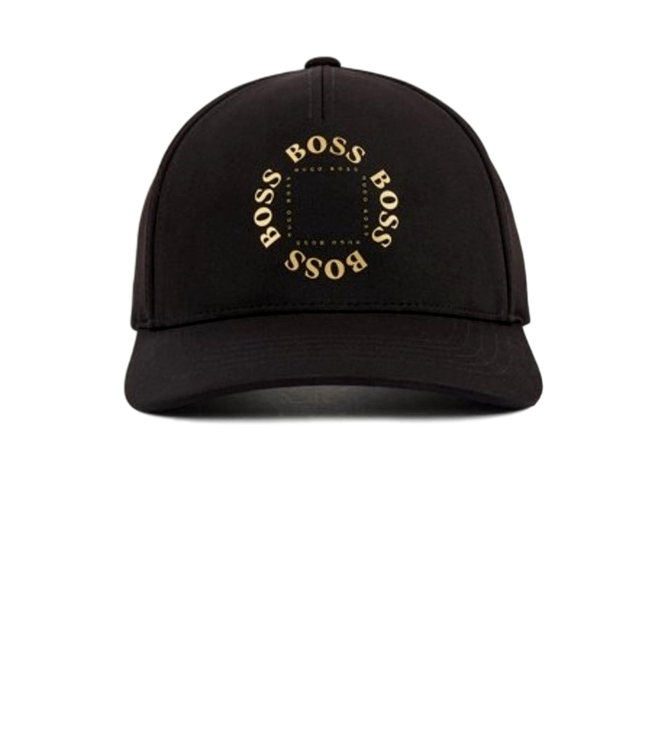 HUGO BOSS Cappellino Logo color oro NERO Modello Cap-Circle 50423963
