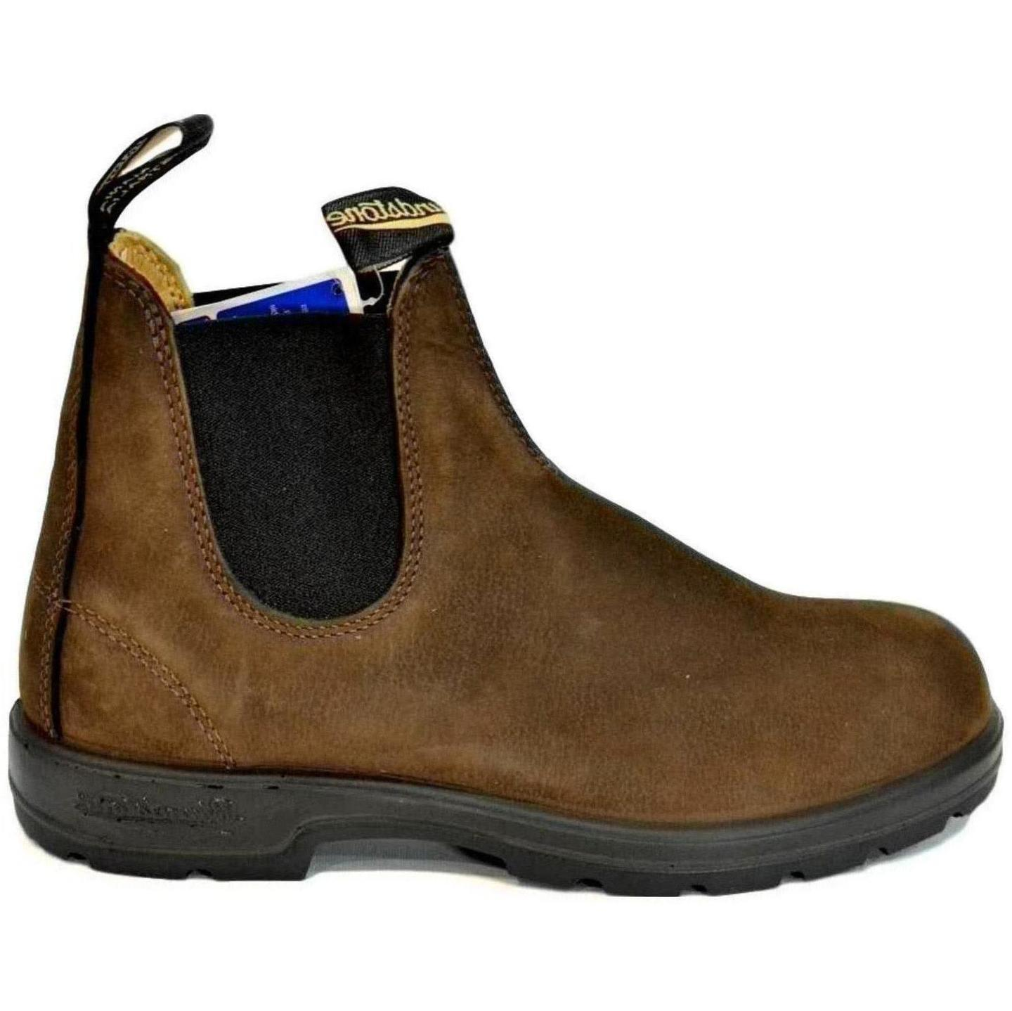 BLUNDSTONE 1606  STIVALETTI AUSTRALIANI BROWN NUBUCK PEBBLE