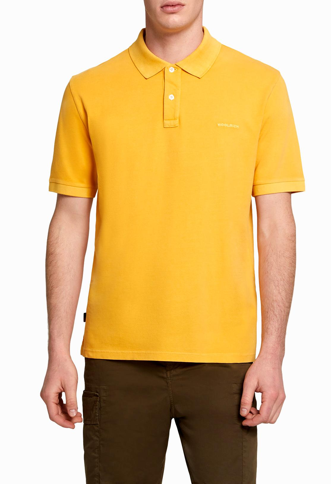 WOOLRICH POLO UOMO Men's Mackinack Polo Shirt Colore: BUDDAGOLD