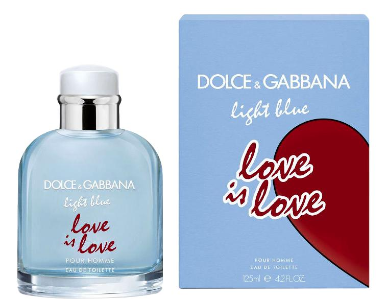DOLCE GABBANA LIGHT BLUE POUR HOMME LOVE IN LOVE Eau de Toilette 125ml