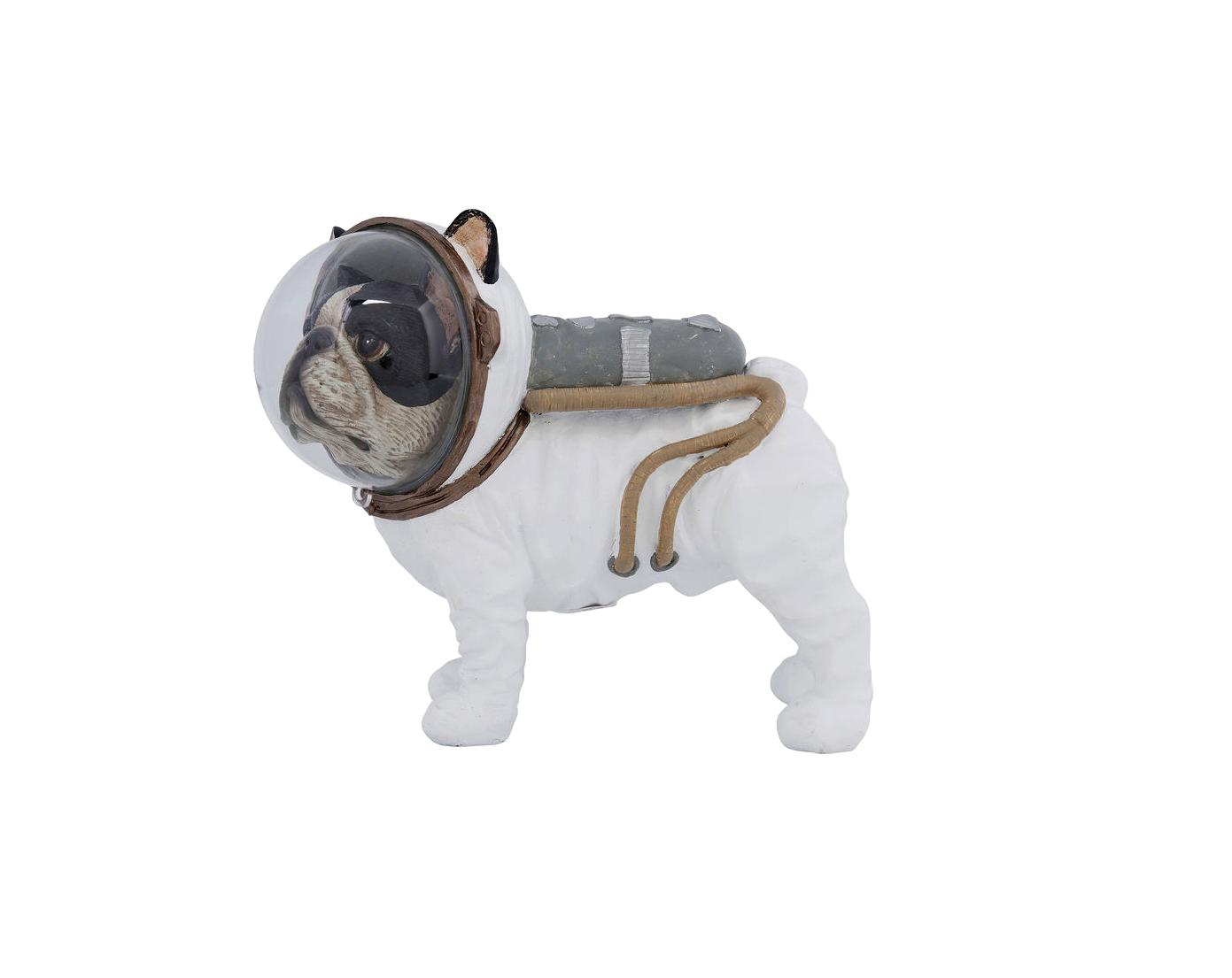 KARE DESIGN DECO FIGURINE SPACE DOG 21CM 21X25X12CM