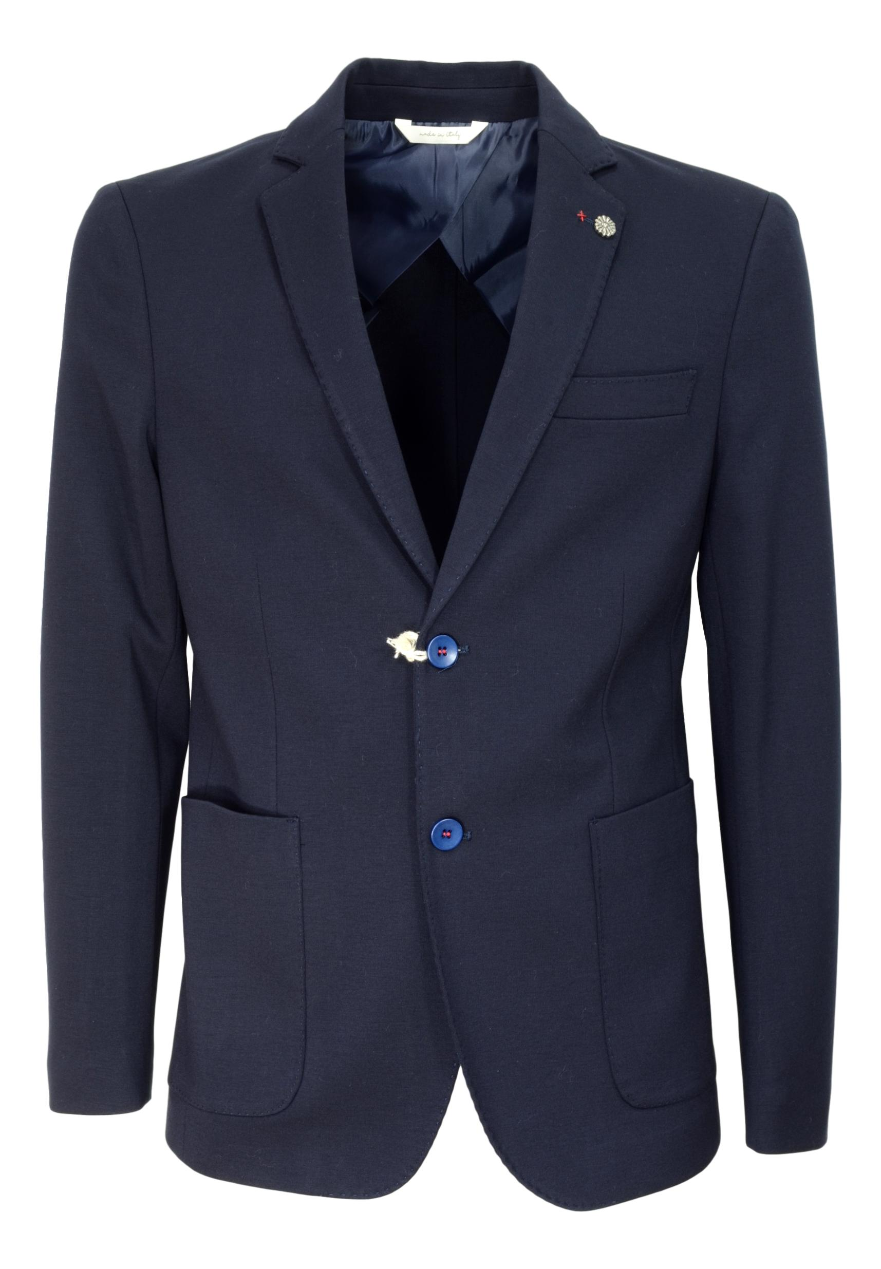 ALESSANDRO GILLES GIACCA UOMO EXTRA SLIM FIT COLORE BLU ART. GMAT 2356
