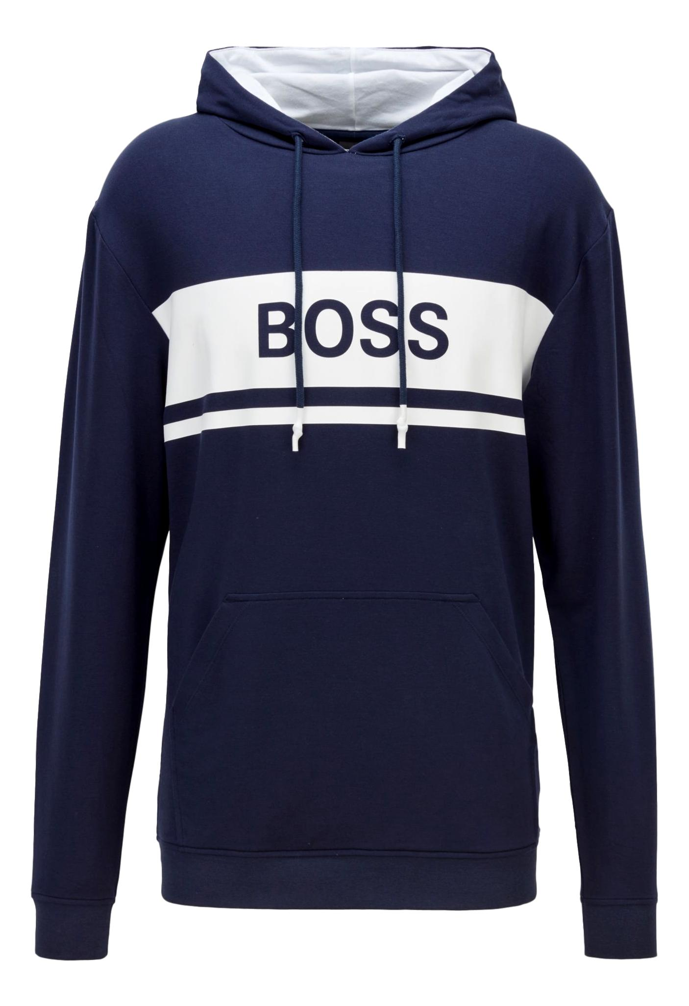 HUGO BOSS Logo hoodie lightweight French terry Style Fashion Sweatshirt 50436860