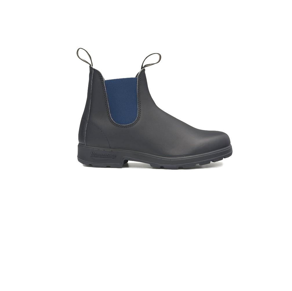 BLUNDSTONE 1917 COLOURED ELASTIC SIDED BOOT BLACK NAVY