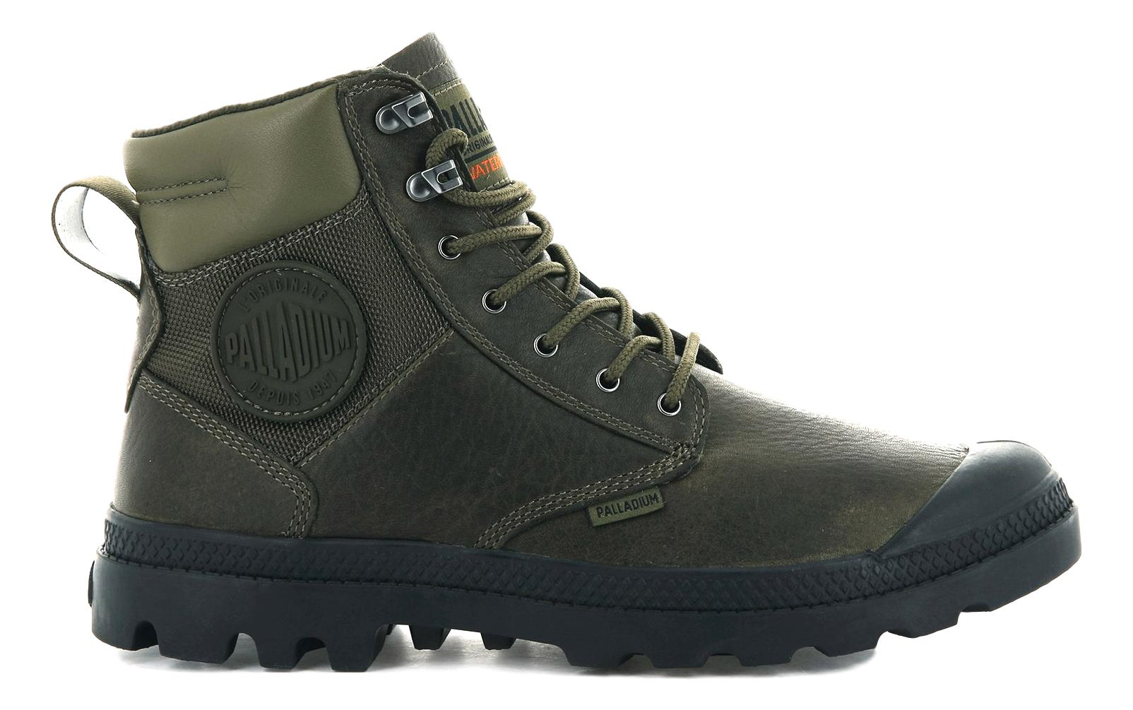 PALLADIUM SCARPONCINI PAMPA SHIELD WP LTH MILITARY OLIVE
