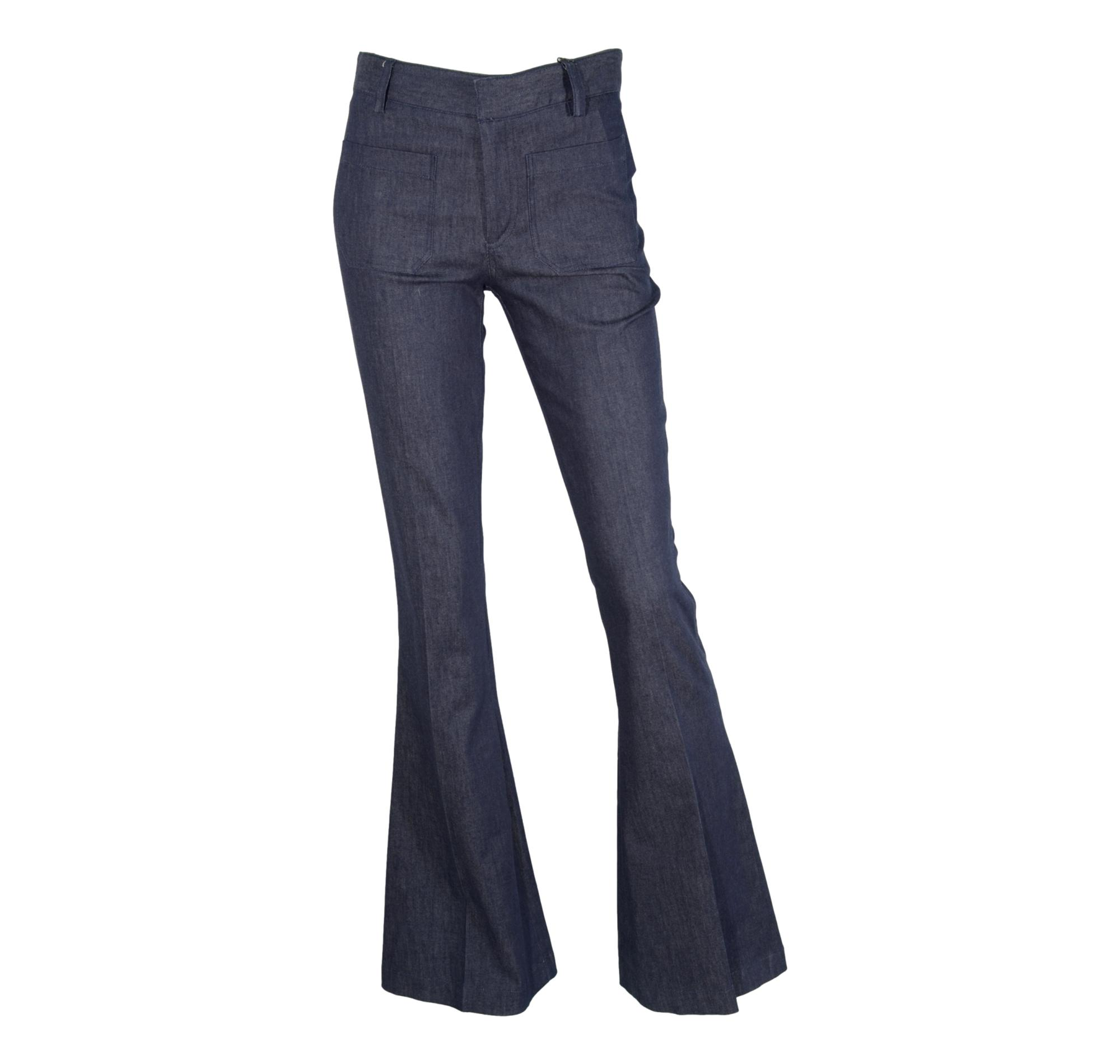 CHIARA B. JEANS DONNA COLORE BLU DENIM art. flarted