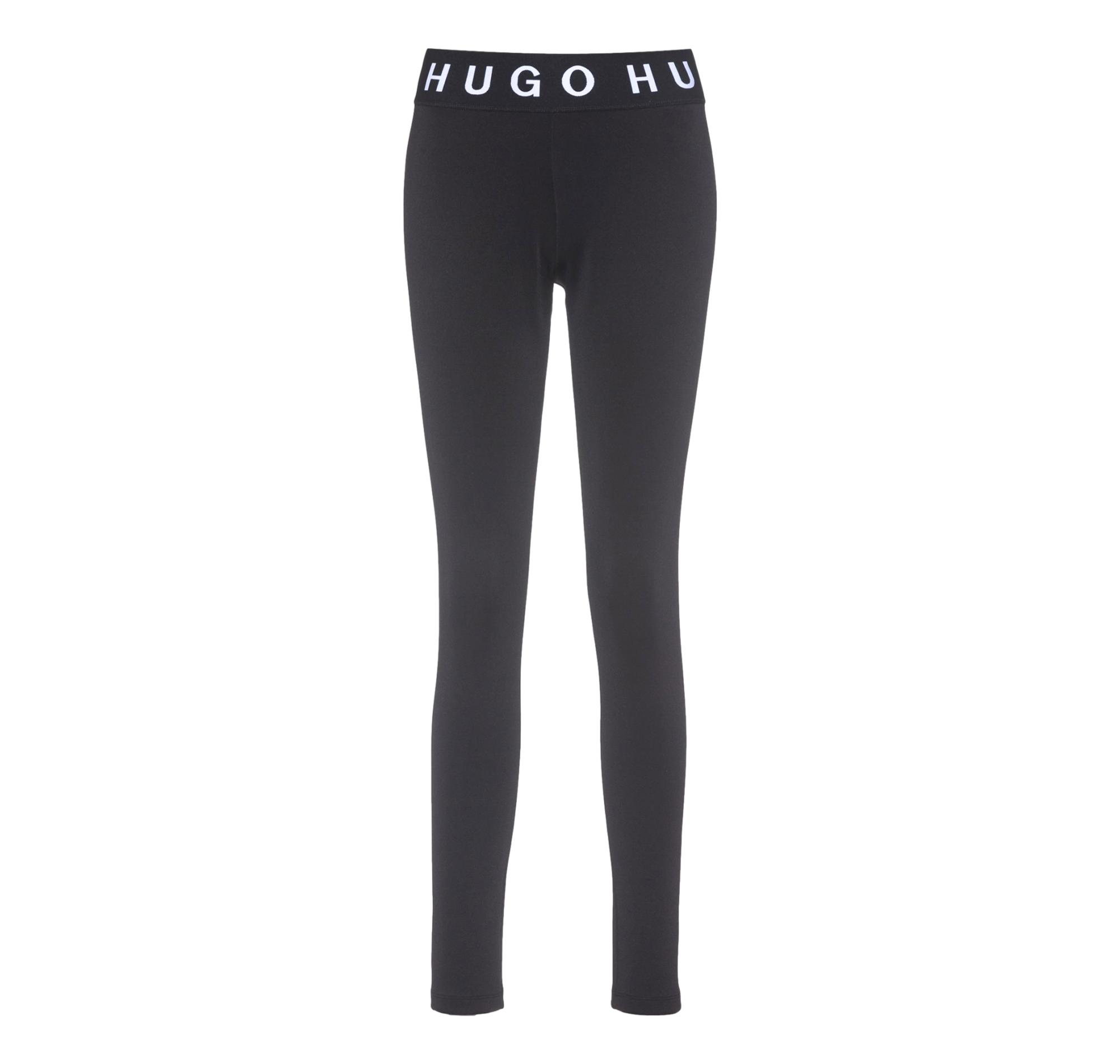 HUGO BOSS Leggings skinny fit con logo a contrasto The HUGO Leggings 50442302