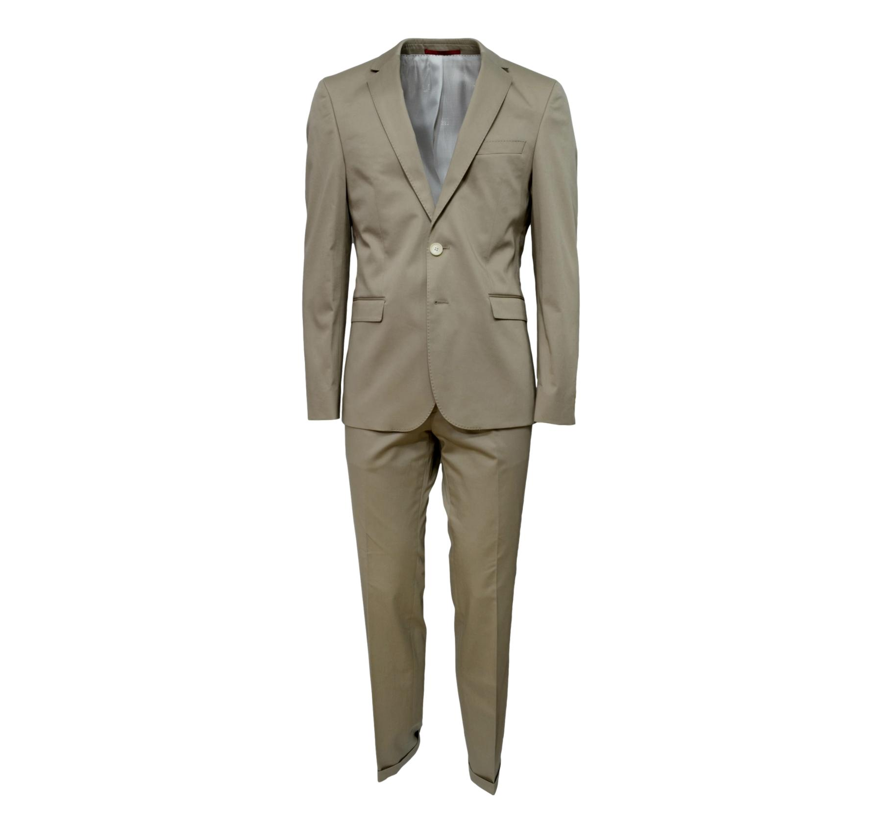 HUGO BOSS HUGO ABITO COTONE C-RYAN/WIN COTONE BEIGE SIM FIT ART. 50309850