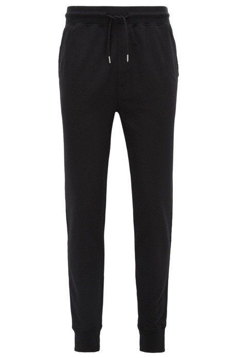 HUGO BOSS Pantaloni casual regular fit in morbido jersey Modello Sido 50372761