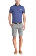 HUGO BOSS ORANGE Polo Regular-Fit in cotone melange: 'Patches 1' by BOSS Orange