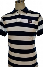PAUL  SHARK YACHTING POLO E15P0083SF SLIM FIT COLOR 114 LINES TG. L