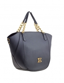 ERMANNO SCERVINO BORSA MOD. TOTE BAG NEW EBA 12400816 BLACK