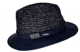 WOOLRICH CAPPELLO DONNA WWACC1358 COLORE BLU TG. S