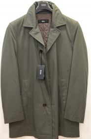 HUGO BOSS  Trench 'Dais6'  Idrorepellente Colore VERDE TG. 50