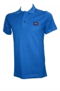 Paul  Shark Yachting Polo E14P0055sf col. 726 LIGHT BLUE SLIM FIT
