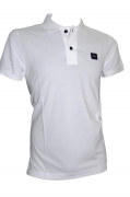 Paul Shark Yachting Polo p17p1033sf col. 010 Bianco slim fit