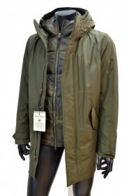 WOOLRICH Mountain Parka WOCPS2734 CN03 DAG Colore: DARK GREEN