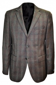 HUGO BOSS GIACCA UOMO 50168979 QUADRO GALLES CON TOPPA TAGLIA 50 REGULAR FIT