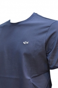 Paul Shark Yachting T shirt E19P1013 COL. 013 BLU REGULAR FIT