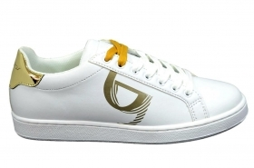 BYBLOS SNEAKERS DONNA MODELLO LOGO 2WA0005 LIGHT GOLD