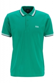 HUGO BOSS Polo regular fit 3 bottoni VERDE Modello Paddy - 50398302