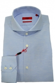 HUGO BOSS Camicia regular fit in cotone con colletto alla francese 50403990