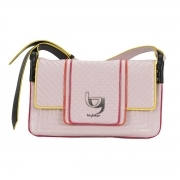 BYBLOS BORSA POCHETTE DONNA 2WB0054 QUINCY SHOULDER BAG MEDIUM TRACOLLINA PINK