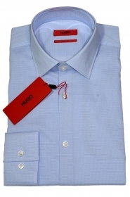 HUGO BOSS Camicia slim fit in cotone C-Joey 50381801 459 microfantasia stampata
