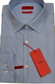 HUGO BOSS Camicia slim fit in cotone 50289499 colore CELESTE  'C-Jenno' by HUGO