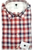 CAMICIA UOMO DE LAMP MOD, SLIM FIT  PURO LINO QUADRI SHIRT MADE IN ITALY 0787 02