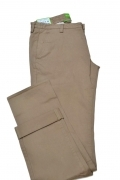 HUGO BOSS Green Pantaloni slim fit in cotone elasticizzato: 'C-Rice1-4-D BEIGE