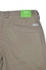 HUGO BOSS Green Pantaloni slim fit in cotone elasticizzato: \'C-Rice1-4-D BEIGE