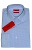 HUGO BOSS Camicia slim fit in cotone C-JENNO 50382531 QUADRETTO CELESTE