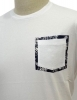 WOOLRICH T SHIRT PASLEY POCKET TEE WOTEE1129 COLORE BIANCO