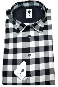 CAMICIA UOMO DE LAMP MOD, SLIM FIT QUADRETTO MOD. 1558  MADE IN ITALY