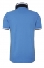 HUGO BOSS POLO UOMO REGULAR-FIT TAGLIA S MOD. PADDY IN PIQUE\' COLORE BLUE