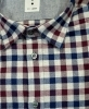 CAMICIA UOMO DE LAMP MOD, SLIM FIT QUADRO FLANELLA mod. 1858 MADE IN ITALY