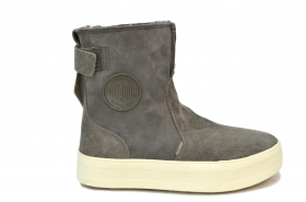 PALLADIUM  DONNA S_U_B EXPLORER BOOT GOUDRON/MOONBEAN
